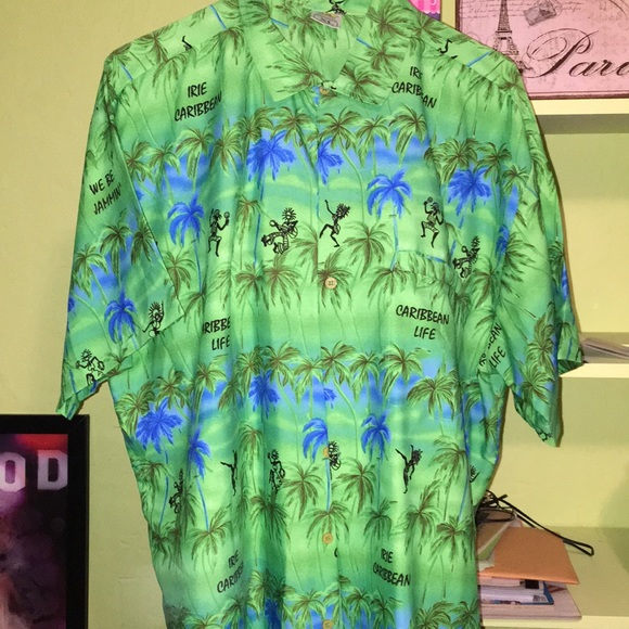 Other - Men's RIMA shirt XL short sleeve Caribbean Life